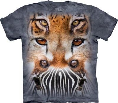T-Shirt Zoo Face Totem