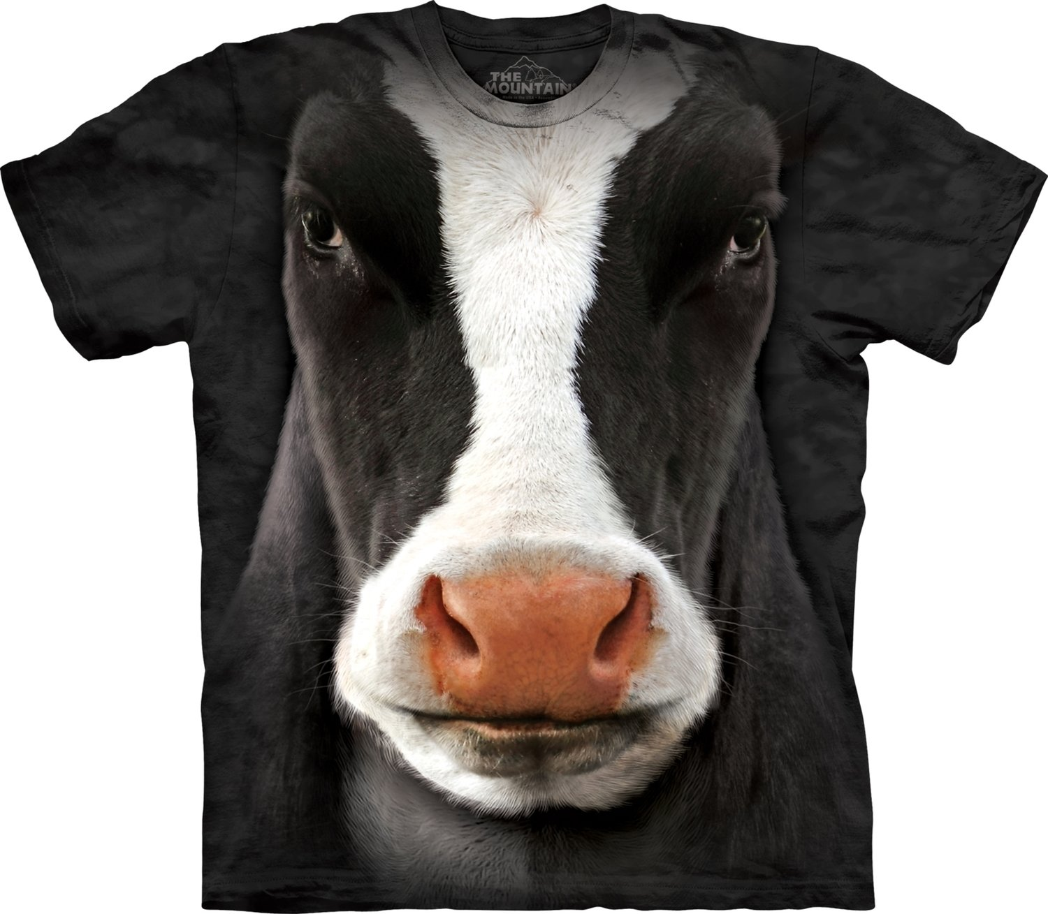 T-Shirt Black Cow