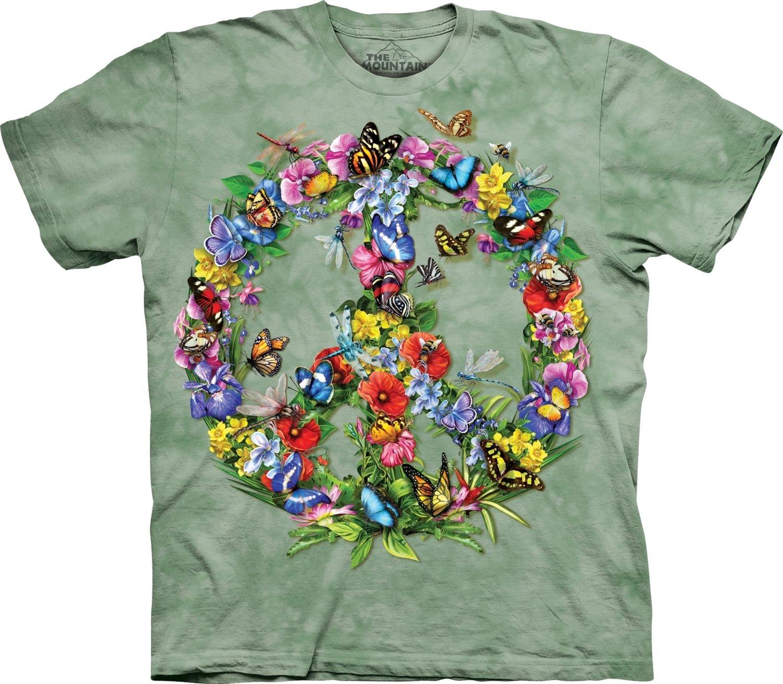 T-Shirt Butterflies Peace