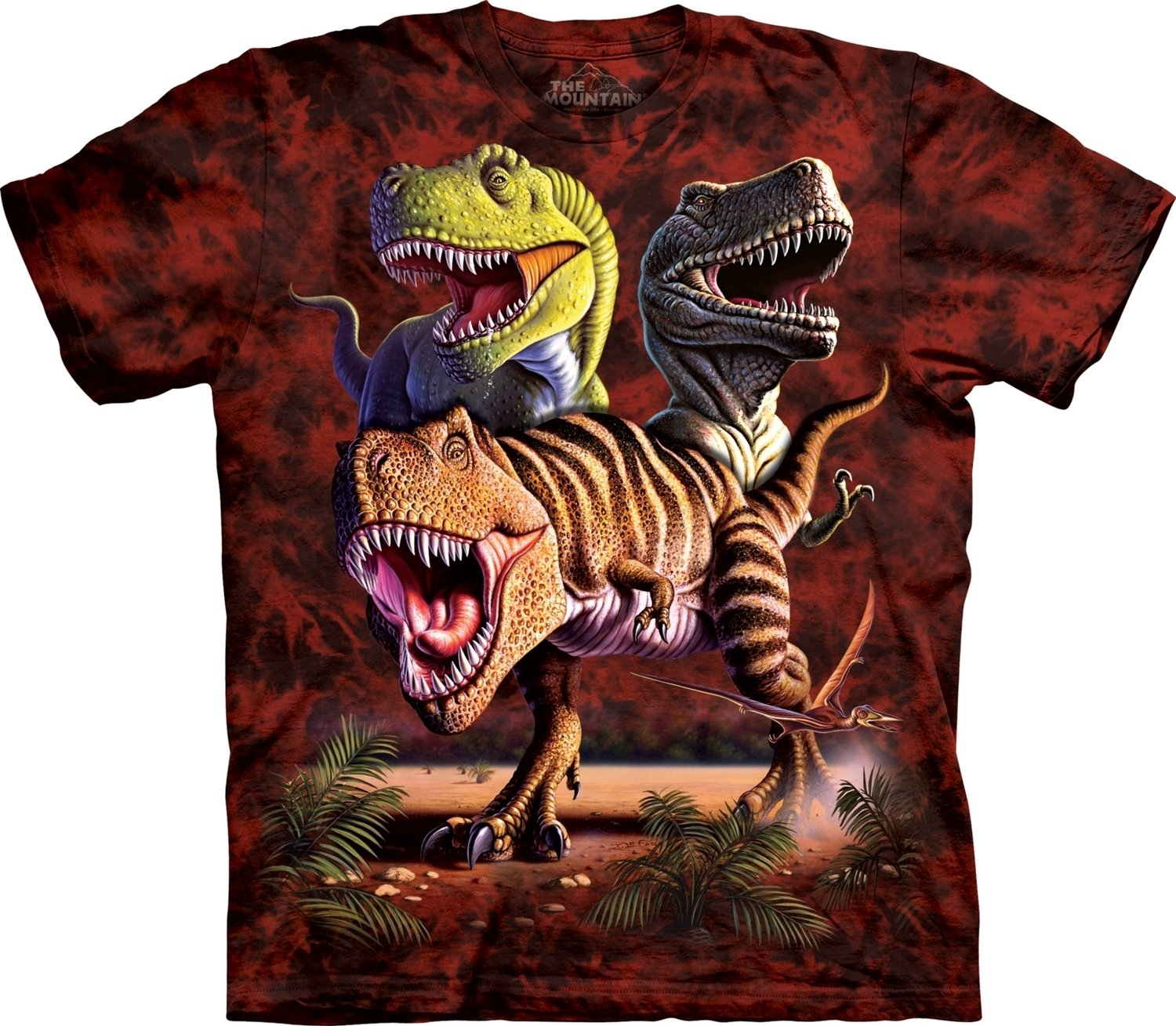T-Shirt Rex Collage