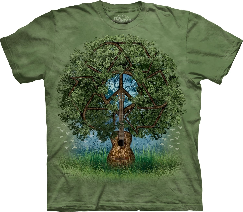 T-Shirt Guitar Tree