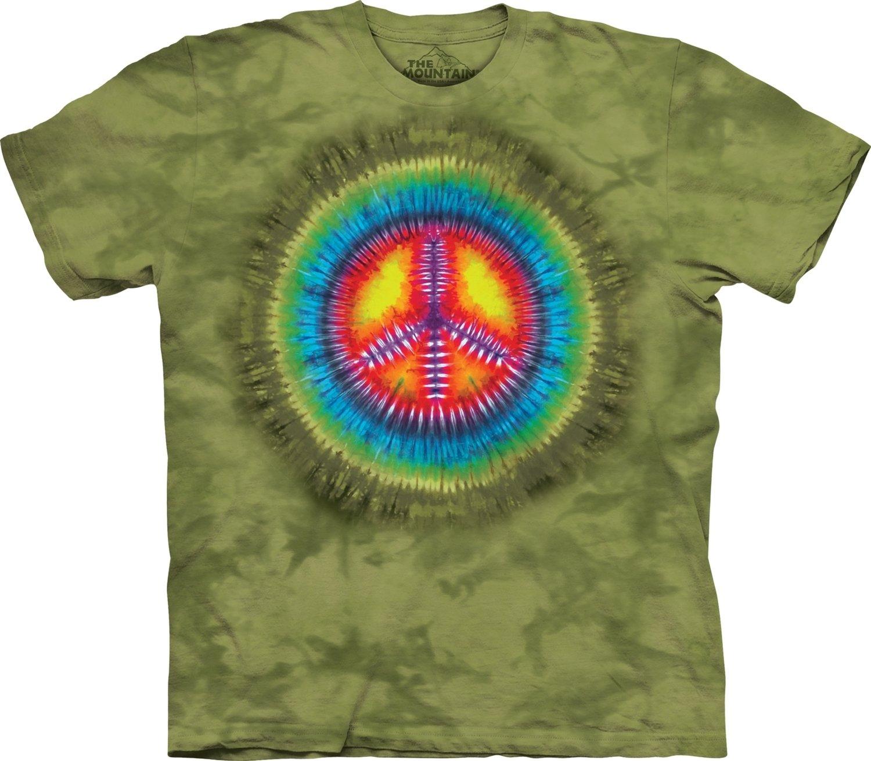 T-Shirt Peace Tie-Dye