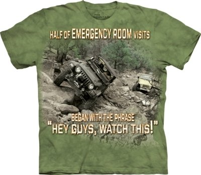T-Shirt Outdoor Jeep