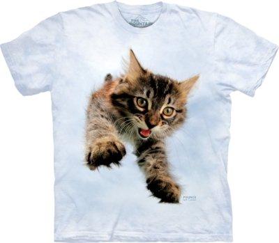 T-Shirt Pounce Doc Cat Kids