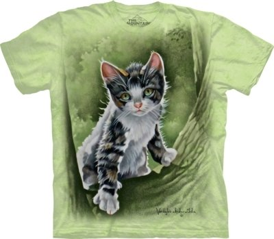 T-Shirt Tree Kitten Kids