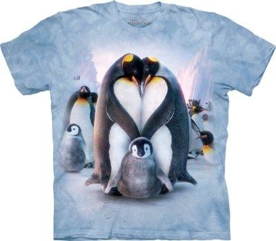 T-Shirt Penguin Heart Kids