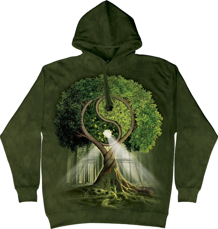 Hoodie Yin Yang Tree