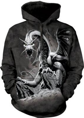 Hoodie Black Dragon