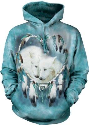 Hoodie Wolf Heart