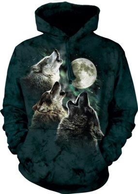 Hoodie Three Wolf Moon