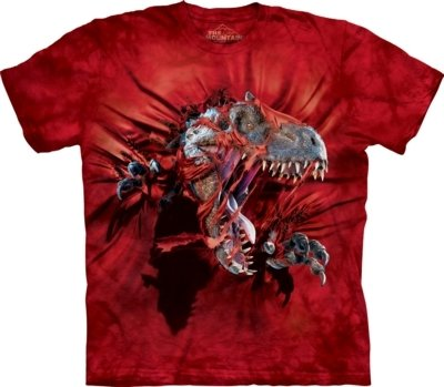 T-Shirt Red Ripper Kids