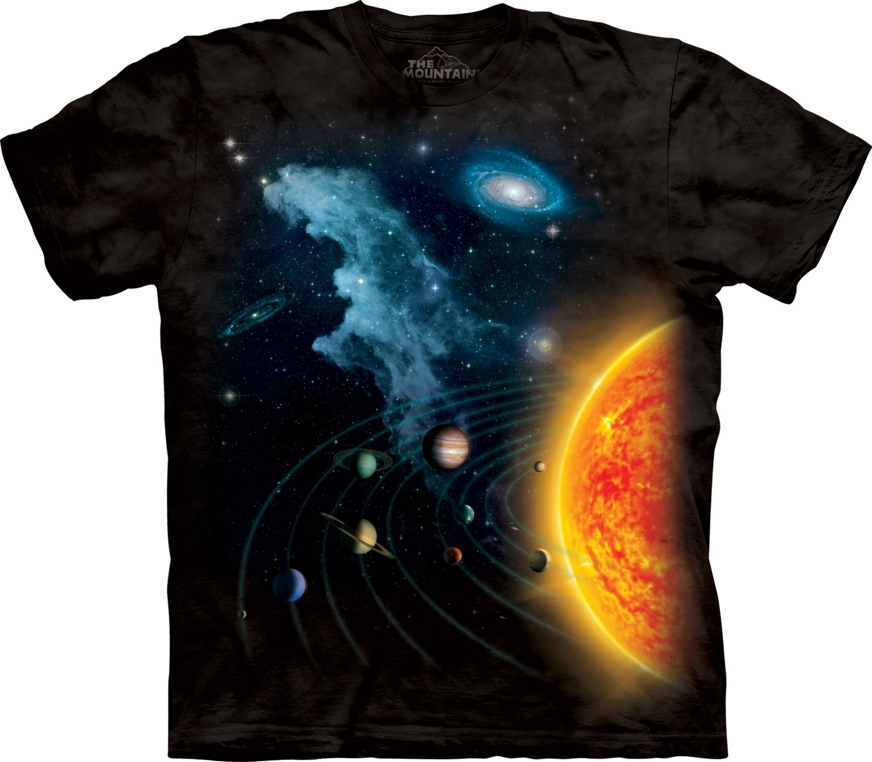 T-Shirt Solar System Kids
