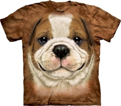 T-Shirt Bulldog Puppy Kids
