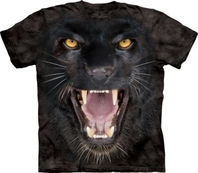 T-Shirt Aggressive Panther