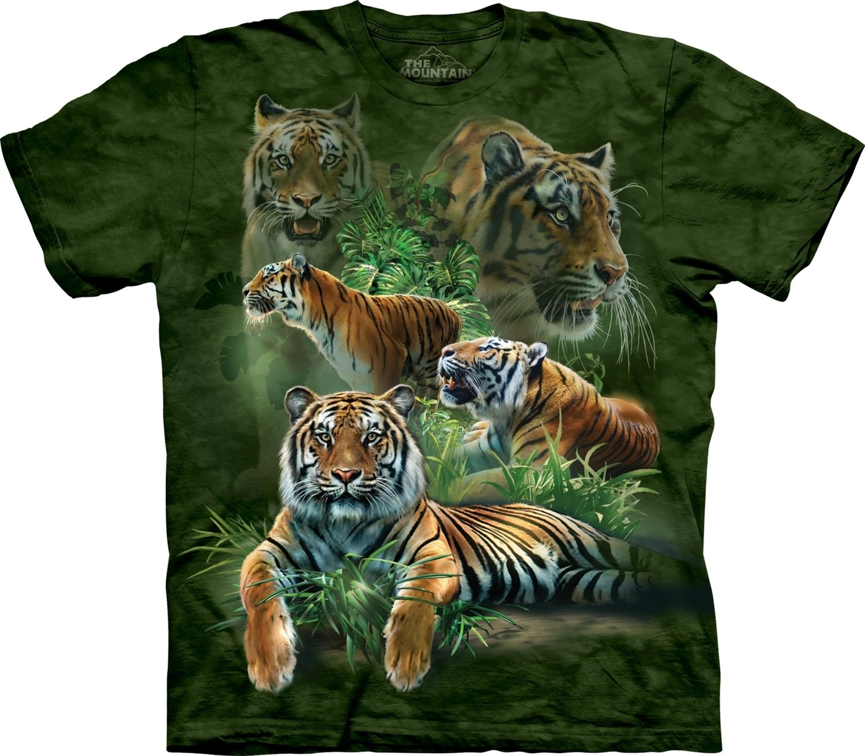 T-Shirt Split Tiger