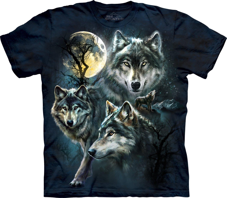 T-Shirt Moon Wolves Kids