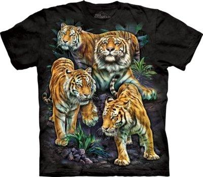 T-Shirt Bengal Tiger Collage