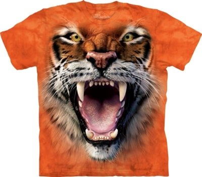 T-Shirt Roaring Tiger