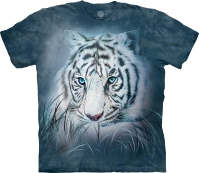 T-Shirt Thoughtful White Tiger