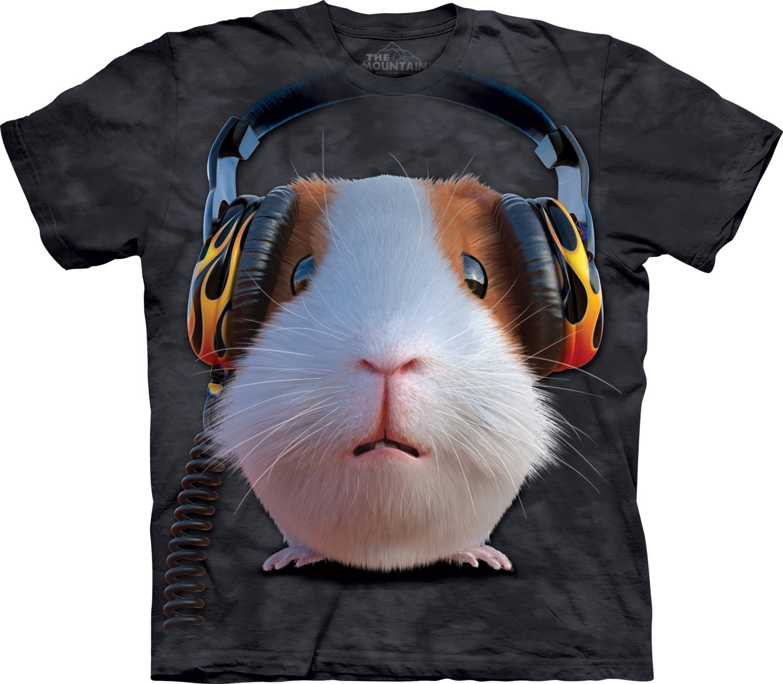 T-Shirt DJ Guinea Pig Kids