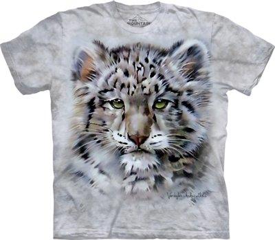 T-Shirt Baby Snow Leopard Kids