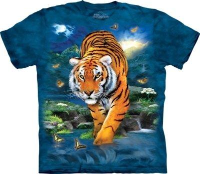 T-Shirt 3D Tiger Kids