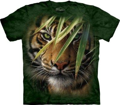 T-Shirt Emerald Forest Tiger Kids
