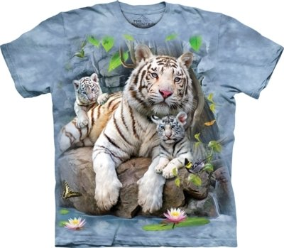 T-Shirt White Tigers of Bengal Kids