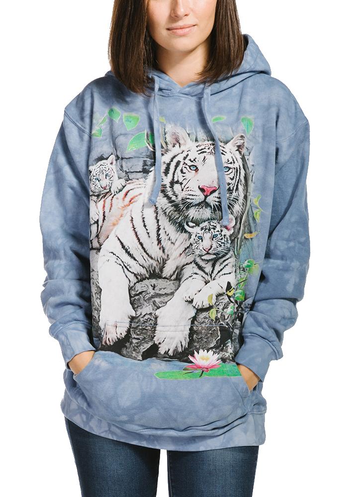 Hoodie White Tigers