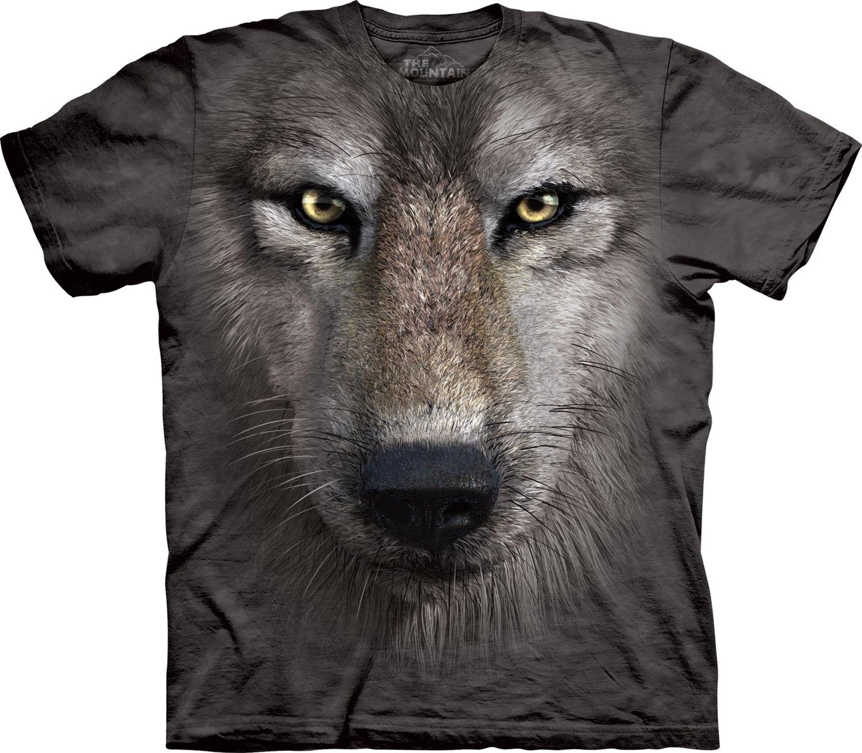T-Shirt Wolf Face
