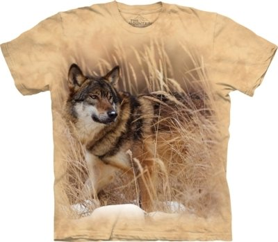 T-Shirt Winter Wolf