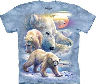 T-Shirt Sunrise Polar Bear