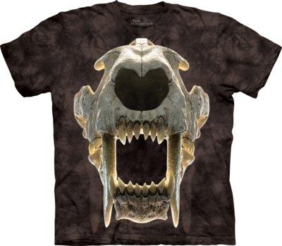 T-Shirt Sabertooth Skull