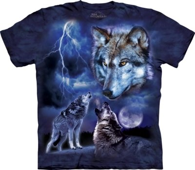 T-Shirt Wolves of the Storm