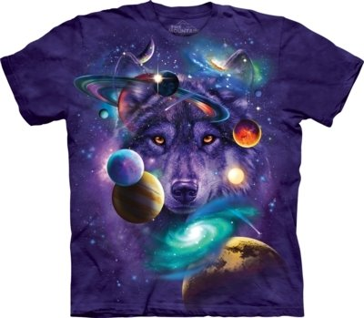 T-Shirt Wolf of the Cosmos