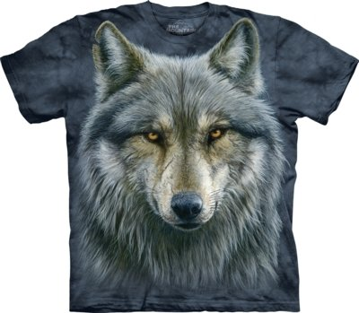 T-Shirt Warrior Wolf