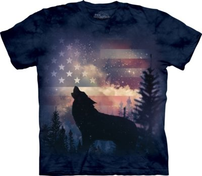 T-Shirt Patriotic Howl