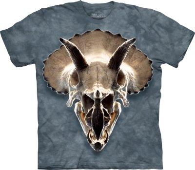 T-Shirt Triceratops Skull