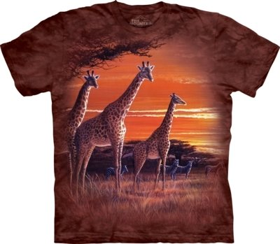 T-Shirt African Sundown