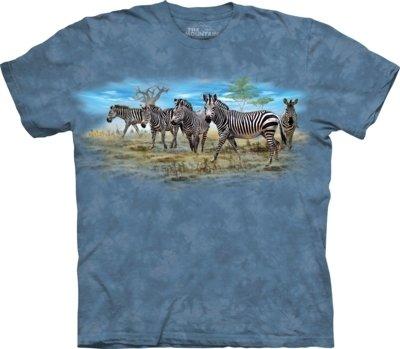 T-Shirt Zebra Gathering