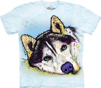 T-Shirt Russo Siberian Husky