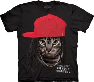 T-Shirt Cat Money Billionaire