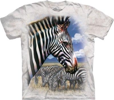 T-Shirt Zebra Portrait