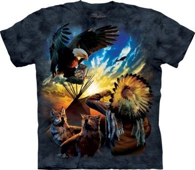 T-Shirt Eagle Prayer