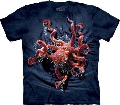 T-Shirt Octopus Climb