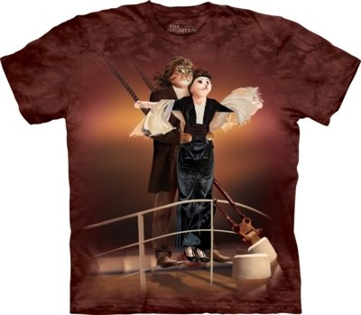 T-Shirt Titanic Cats