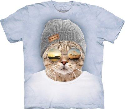 T-Shirt Cool Hipster Cat