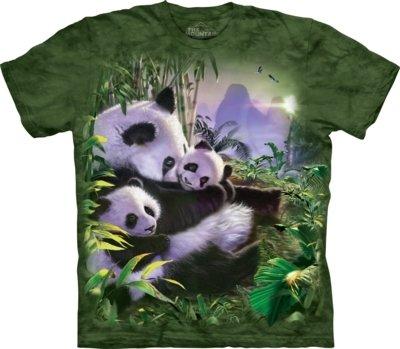 T-Shirt Panda Cuddles Kids