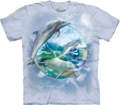 T-Shirt Dolphin Bubble