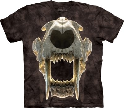 T-Shirt Sabertooth Skull Kids